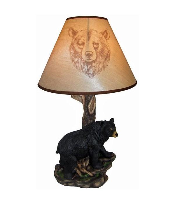 """Bear Lamp 20"""" (+ shade)"""