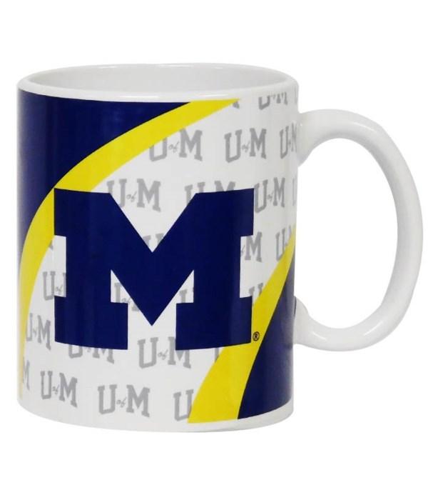 U of M Mug Ceramic Vortex