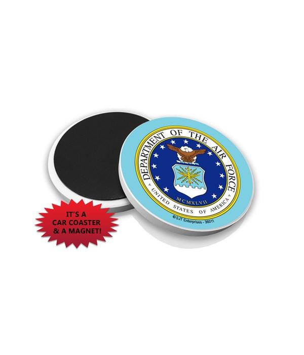 Air Force Car Coaster Magnet