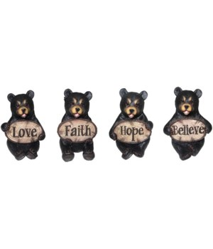 Bear with Words 4PC Unit