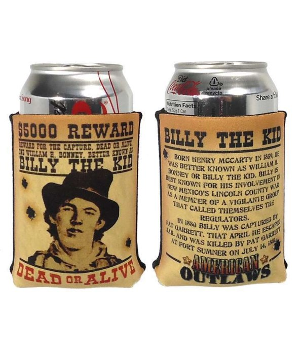 Billy The Kid Pocket Coolie 12PC
