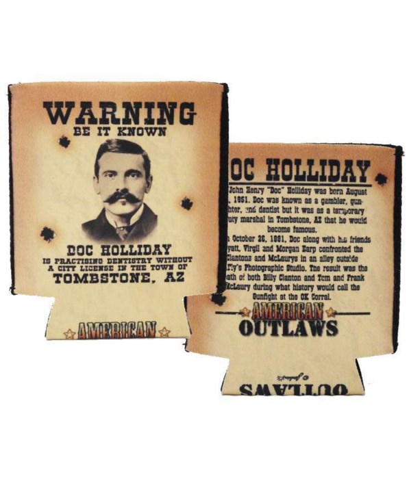 Doc Holliday Pocket Coolie 12PC