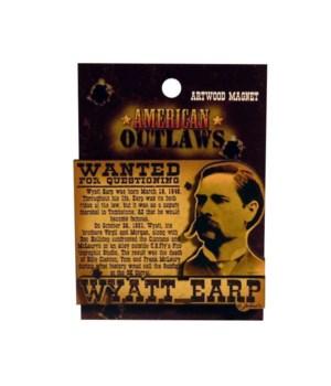 Wyatt Earp Magnet 12PC