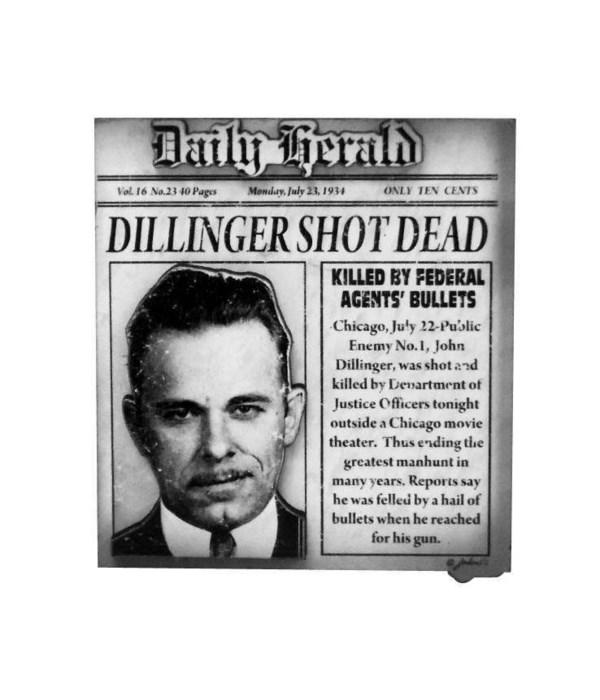 Dillinger Magnet 12PC