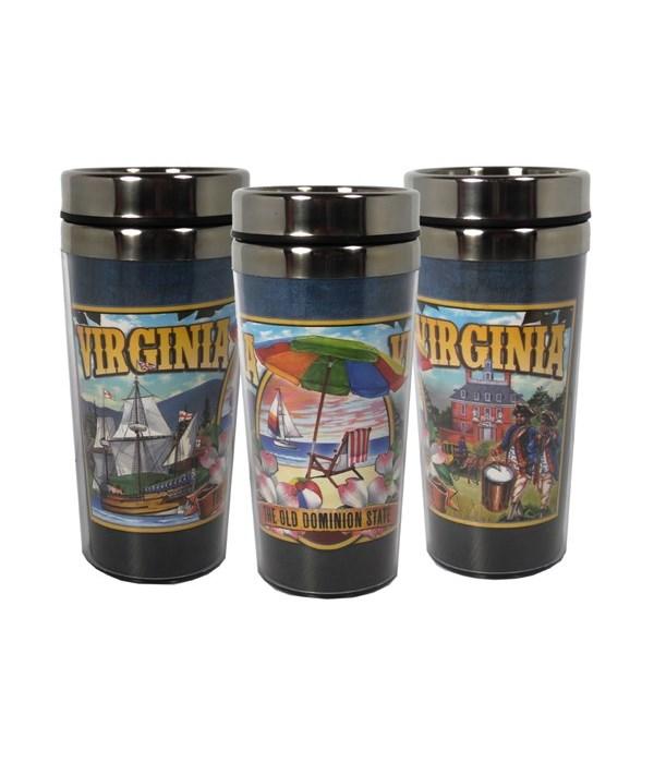 Virginia Mug Travel 16oz