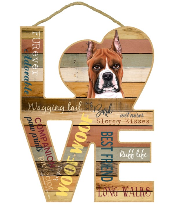 Love sign / Boxer