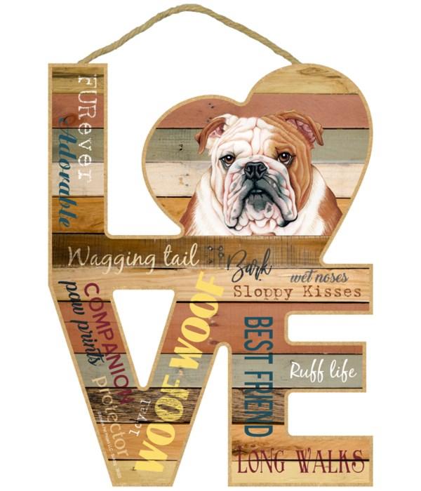 Love sign / Bulldog