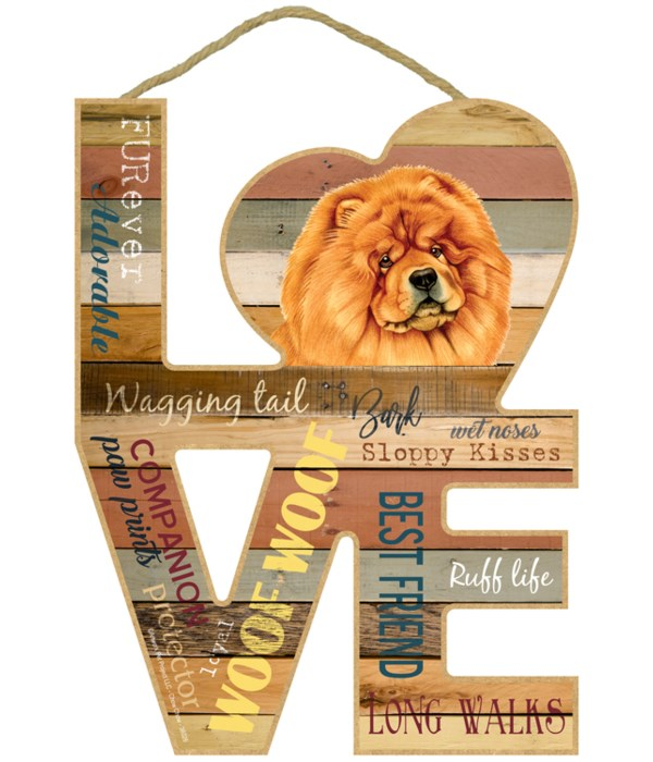 Love sign / Chow chow