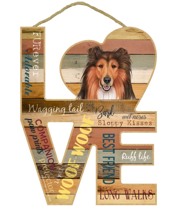 Love sign / Collie