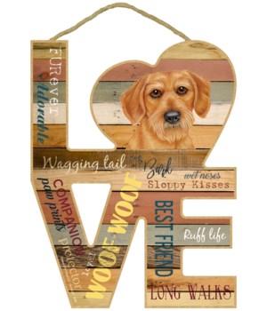 Love sign / Dachshund (Wire hair)