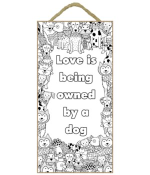 Love is being owned by a dog