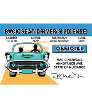 Back Seat Driver ID