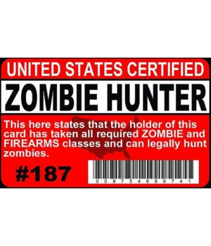 Zombie Hunter ID