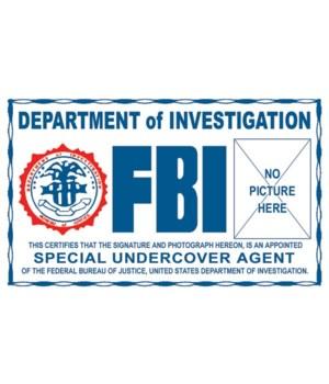 FBI Undercover ID