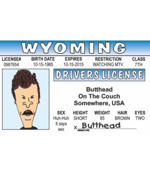 Butthead ID