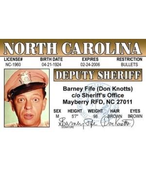 Barney Fife ID