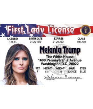 Melania Trump ID