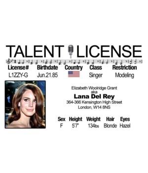 Lana Del Rey Driver's License