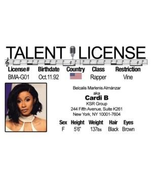 Cardi B Driver's License