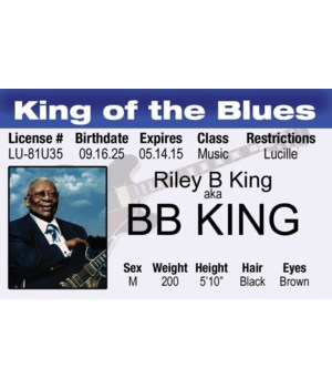 BB King ID