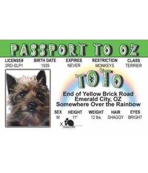 Toto of Oz ID