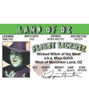 Wicked Witch of Oz ID