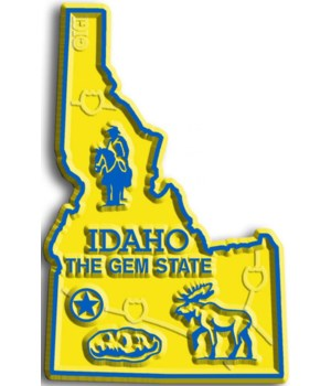 Idaho Map Magnet
