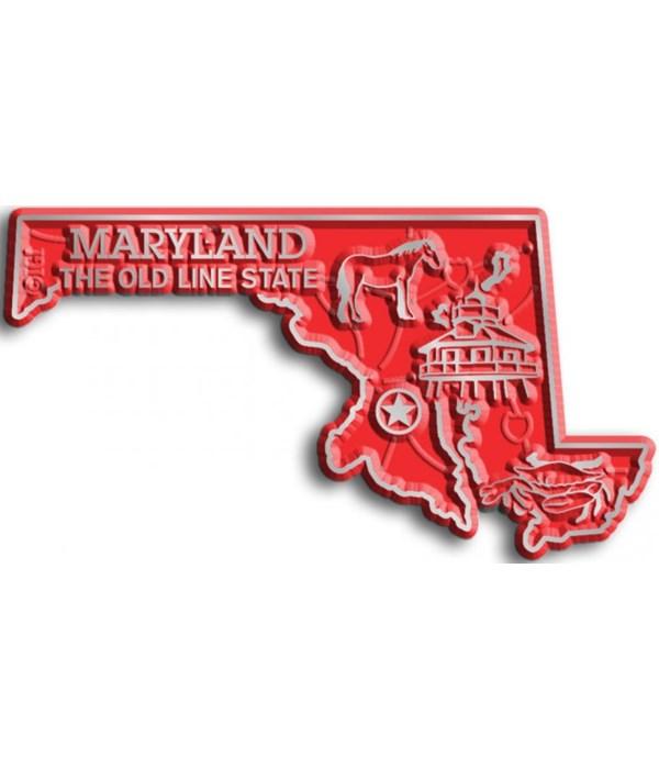 Maryland Map Magnet