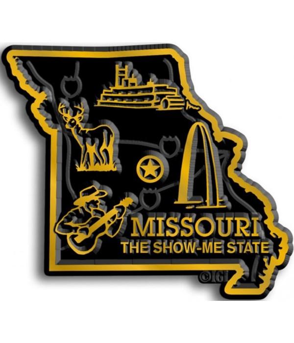 Missouri Map Magnet