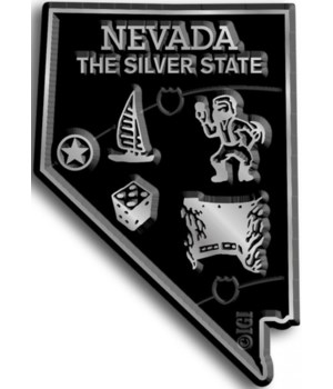 Nevada Map Magnet