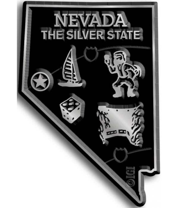 Nevada Map Magnet