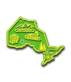 Ontario Map Magnet