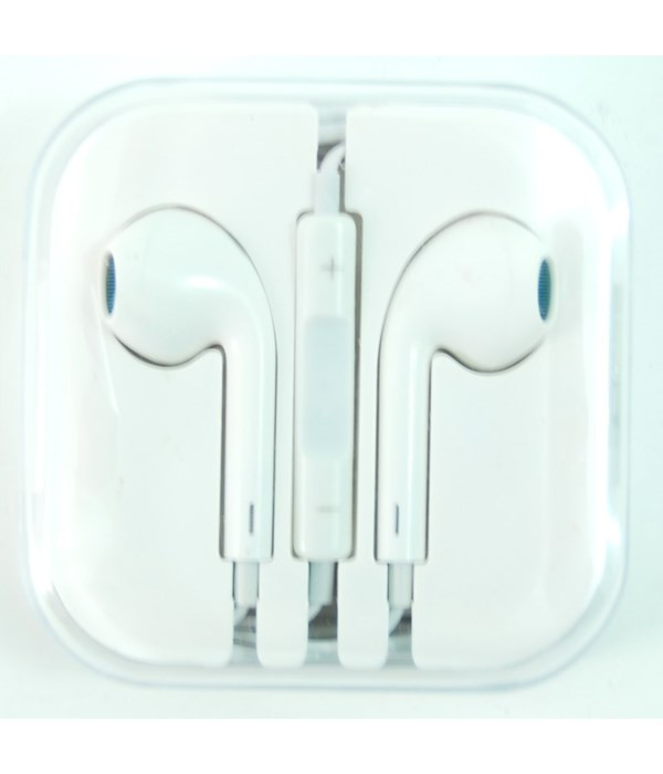 Earbuds- Handsfree/Apple-white