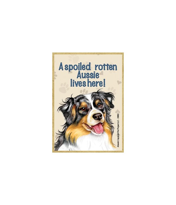 A spoiled rotten Aussie lives here! Magn