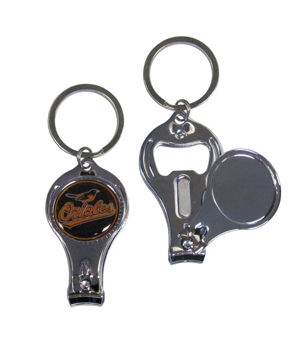 3IN1 KEYCHAIN - BALTIMORE ORIOLES