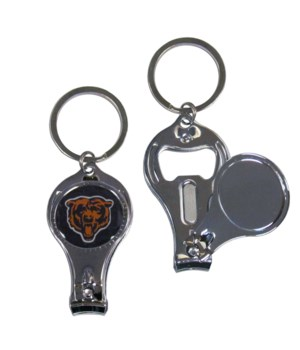 3IN1 KEYCHAIN - CHICAGO BEARS