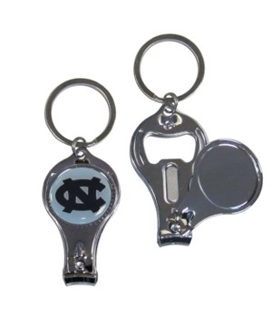 3IN1 KEYCHAIN - NORTH CAROLINA TARHEELS