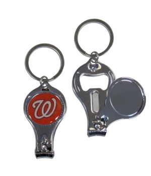 3IN1 KEYCHAIN - WASHINGTON NATIONALS