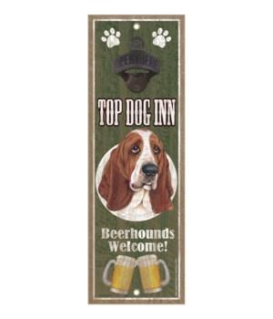 Top Dog Inn Beerhounds Welcome! Basset H