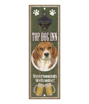 Top Dog Inn Beerhounds Welcome! Beagle