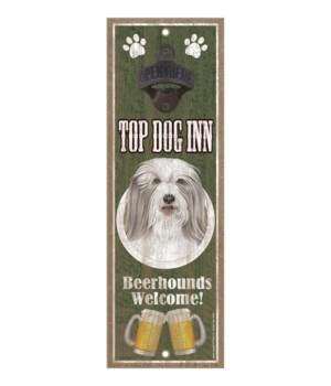 Top Dog Inn Beerhounds Welcome! Bearded