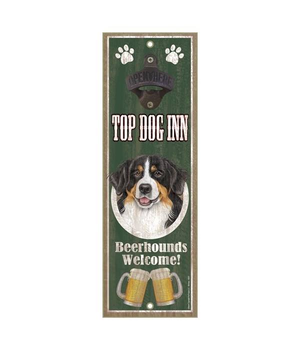Top Dog Inn Beerhounds Welcome! Bernese