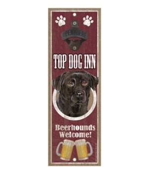 Top Dog Inn Beerhounds Welcome! Black La