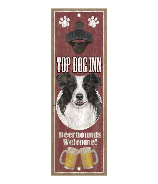 Top Dog Inn Beerhounds Welcome! Border C