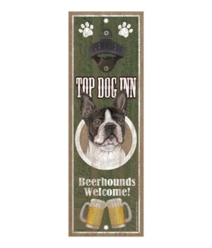 Top Dog Inn Beerhounds Welcome! Boston T