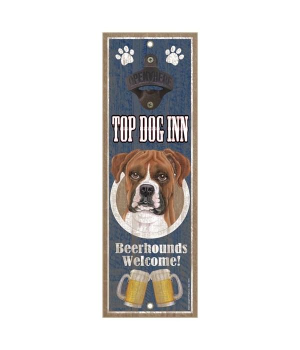 Top Dog Inn Beerhounds Welcome! Boxer (u