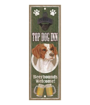 Top Dog Inn Beerhounds Welcome! Brittany