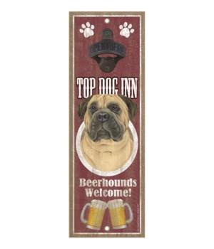 Top Dog Inn Beerhounds Welcome! Bull Mas
