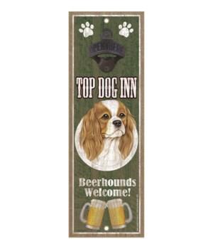 Top Dog Inn Beerhounds Welcome! Cavalier