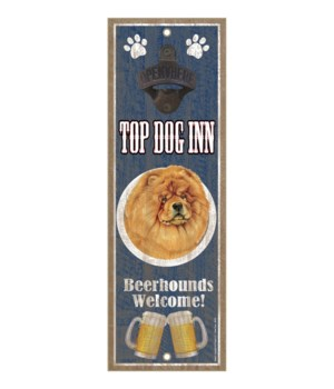 Top Dog Inn Beerhounds Welcome! Chow cho
